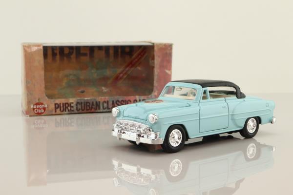 Welly; Cadillac ElDorado 1953; Havana Club Cuban Rum
