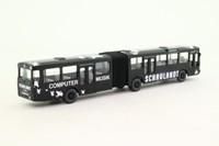 Wiking 70532; Mercedes-Benz Bendy Bus; Berlin, 54 Hauptbahnhof; Schaulandt
