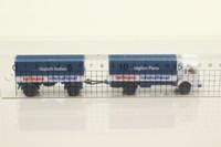 Wiking 424; MAN Truck; Tilt Truck & Trailer; Hellmann International