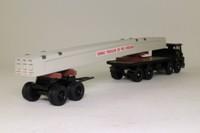 Corgi 29104; Guy Invincible; 8 Wheel Rigid Flatbed; Bogie & Beam Load; Tarmac