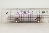 Atlas Dinky Toys 559; Ford Taunus 17M Badewanne; White