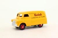 Atlas Dinky Toys 480; Bedford CA Van; Kodak, Yellow, Red Hubs
