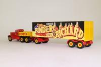 Corgi 55401; Diamond T Ballast Tractor; Box Trailer, Pinder Jean Richard Circus