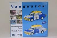 Vanguards PP1002; Pinky & Perky; 2 Pce Police Hillman Imp Set; Dunbartonshire Police