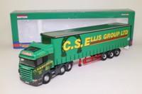 Corgi CC13703; Scania R Cab; High Roof, Curtainside, CS Ellis Group Ltd