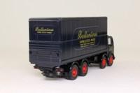Corgi 26001; Albion Mouthorgan Cab; 8 Wheel Rigid Flatbed With Container; Ballantines Scotch Whisky