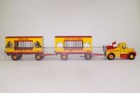 Corgi 16801; Scammell Highwayman; Ballast & Two Trailers, Pinder Jean Richard Circus