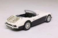 Corgi 02501; Austin Healey 3000 Mk1; Open Roadster; Ivory over Black