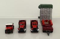 Corgi 31009; Diamond T Ballast Tractor; x2, Scammell Highwayman Ballast & Girder Trailer with Boiler Load, Wynns
