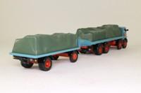 Corgi 27602; Atkinson; 8 Wheel Rigid Flatbed & Trailer, Sheeted Load; Billy Crow & Sons