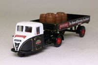 Corgi 97318; Scammell Scarab; Artic Dropside With Barrels; Webster's Brewery