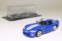 del Prado 42; Dodge Viper Phase 2 RT/10; Blue, White Racing Stripes