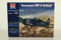 Hobby Master HAK201; Grumman Hellcat Fighter; Self-Assembly Metal Kit