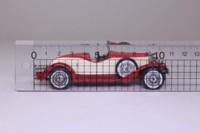 Models of Yesteryear Y-14/3; 1931 Stutz Bearcat Roadster; Open Top, Red, Cream Side Panels