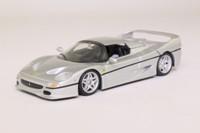 Minichamps 430 075150; 1995 Ferrari F50; Metallic Silver