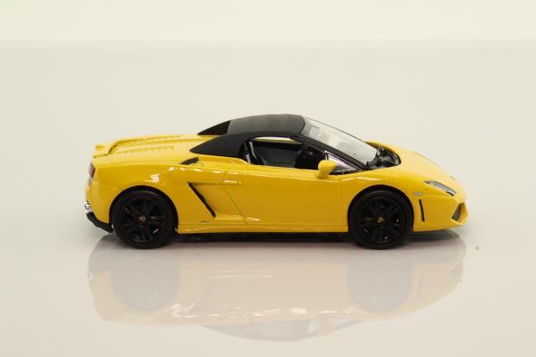 Norev 760026; Lamborghini Gallardo LP 560-4 Spyder; Yellow, Convertible