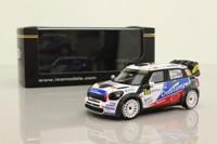 IXO RAM518; BMW Mini John Cooper Works; 2012 Rally de France 14th; Muller & Leneveu; RN68