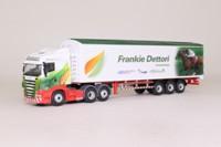 Oxford Diecast 76SHL09WF; Scania R Cab; Walking Floor, Eddie Stobart, Frankie Dettori