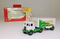 Trackside DG113000; AEC Mammoth Artic; Box Trailer, Billy Smart's Circus Wardrobe Truck
