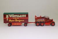 Atlas Editions 4 654 107; Scammell Pioneer; Tractor & Box Trailer, T Whitelegg & Sons, Super Dodgems