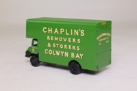 EFE 36101; Ford Thames Trader 4W Rigid Pantechnicon; Chaplin's Removals; Colwyn Bay