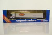 Corgi Superhaulers TY86903; Renault Premium; Articulated Curtainside Trailer, City Transport