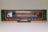 Corgi Superhaulers 59502; ERF EC 1:64 Scale; Artic Curtainside, Eddie Stobart