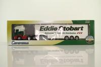 Cararama CR029; Scania R Cab; Artic Step Frame Box Tailer; Eddie Stobart