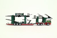 Oxford Diecast 76SCT001; Scania P Cab; Car Transporter; Eddie Stobart