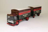 Corgi 97892; AEC Ergomatic Cab; 4 Wheel Box Van & Trailer; S Houseman, Melbourne, York