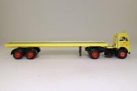 Corgi Classics 12801; Foden FG; Artic Long Platform Trailer: Edward Beck