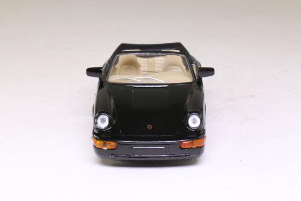 del Prado 09; 1989 Porsche 911 Carrera 4; Open Cabrio, Black