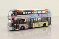 Corgi OOC OM46633B; Wrightbus New Routemaster; Arriva London; 38 Victoria; Sehba Basra's Our Hillingdon