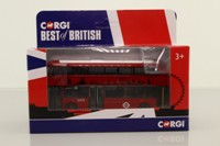 Corgi OOC GS89202; Wrightbus New Routemaster; London Buses; 38 Piccadilly Circus, Best of British
