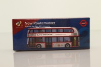Tiny City UK2; New Routemaster Bus; London United; 2014 Year of the Bus