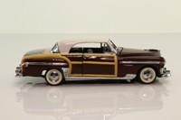 Franklin Mint B11KE20; 1948 Chrysler Town & Country; Brown, Off White, Tan Woodwork