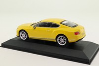 Corgi CC57002; 2003 Bentley Continental GT V8 S; Monaco Yellow; Press Car