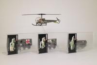 Corgi CS90023; Pork Chop Hill 4 Pce Set; Sioux Helicopter, Jeep, Ambulance, M3 Half Track