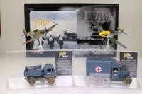 Corgi CS90025; RAF Finest Hour 4 Pce Set; Spitfire, ME109, Ambulance & Compressor Truck