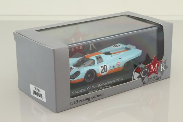 Classic Model Replicas CMR43001; Porsche 917K; 1970 24h Le Mans DNF; Siffert - Redman