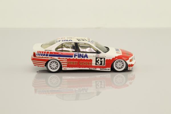 Minichamps 430 942002; BMW 318i Touring Car; 1994 Belgian Procar 8th; Marc Duez; RN31