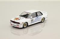 IXO RAC204; BMW M3 E30; 1989 Macau Guia Race 13th; C.Kwan Mandarina Duck; RN11