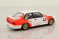 IXO GTM127; BMW M3 E30; 1987 WTCC, 11th; Sala, Grouillard; RN43
