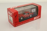 Bang/Box/ Best 9068; Alfa Romeo Giulia TZ1; 1963, Red, Street Version