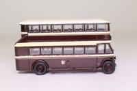EFE 27202; Leyland TD1 Bus; Open Stairs; Birkenhead Corporation; Claughton Village