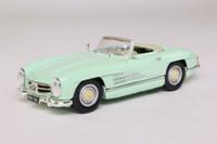 Corgi 03401; Mercedes-Benz 300 SL; Open Top, Pearl Green