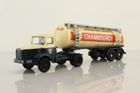 Corgi 70001; Berliet TLR8 Artic Tanker; Chambourcy
