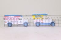 Days Gone Lledo BU1002; Bunty Comic 2 Van Set; Bull Nose Morris, Bedford O Luton