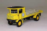 Corgi Classics 80005; Sentinel Steam Wagon; Flatbed, Blue Circle Cement, Sacks Load