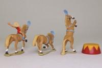 Corgi 31901; Mary Chipperfield's Liberty Horses; Three Circus Horses, Rider Figure, Podium